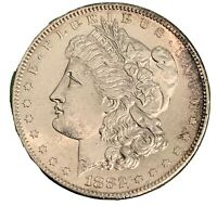1882-S MORGAN SILVER DOLLAR UNCERTIFIED BU@