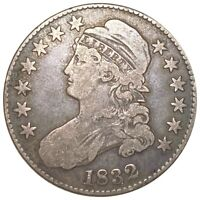 1832 CAPPED BUST SILVER HALF DOLLAR  508