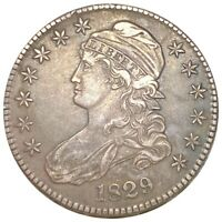 1829 CAPPED BUST SILVER HALF DOLLAR 337