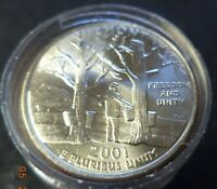 BRILLIANT UNCIRCULATED 40 COIN ROLL OF 2001 P VERMONT STATE
