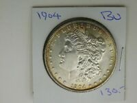 1904  MORGAN SILVER DOLLAR BU 533