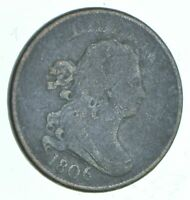 1/2C   HALF CENT   1806 DRAPED BUST UNITED STATES   HALF CEN