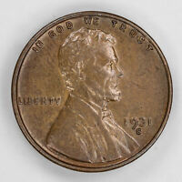 1931 S LINCOLN WHEAT CENT PENNY 1C ABOUT UNC / BU BRILLIANT UNCIRCULATED 2381