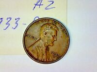1933 D LINCOLN WHEAT CENT LOT A2