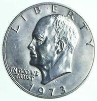 SPECIALLY MINTED S MINT MARK 1973 S 40  EISENHOWER SILVER DO