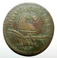 NEW JERSEY COPPER 1787 COIN