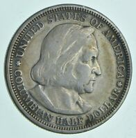 1892 COLUMBIAN EXPOSITION COMMEMORATIVE HALF DOLLAR WALKER C