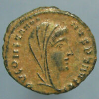 CONSTANTINE I POSTHUMOUS VN MR AE 4 WITH BEAUTIFUL BLACK & SAND PATINA