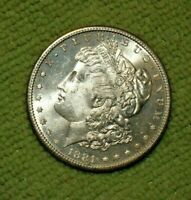 A366,MORGAN SILVER DOLLAR,HIGH GRADE,1881-S VAM 7,R5 BU