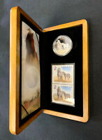 2006 CANADA 5 DOLLARS SABLE ISLAND HORSE SILVER PROOF COIN &
