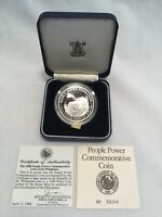 1988 500 PESO PEOPLE POWER COMMEMORATIVE  COIN OF THE PHILIP