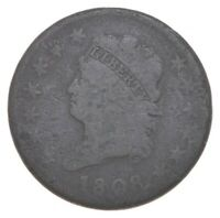 1808 CLASSIC HEAD LARGE CENT   WALKER COIN COLLECTION  736