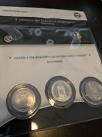 2010   US MINT HOT SPRINGS NATIONAL PARK ATB QUARTERS  3 COI