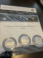 ATB 2010 YOSEMITE NATIONAL PARK THREE COIN SET 3 QUARTERS US