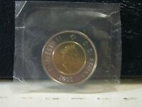 2000 CANADIAN TWO DOLLAR COIN. FROM PROOF LIKE SET.