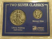 LITTLETON COINS TWO SILVER CLASSICS 1941 WLHD & 1935 MD