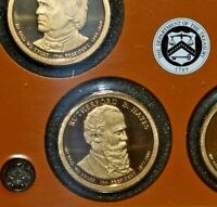 2011 S RUTHERFORD B HAYES DEEP CAMEO  PRESIDENTIAL PROOF DOLLAR
