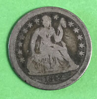 1842-O SEATED LIBERTY DIME  DATE GOOD