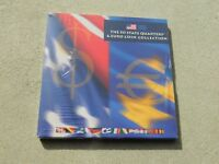 US MINT 2002 THE 50 STATE QUARTERS & EURO COIN COLLECTION SE