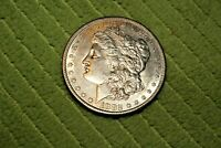 A462,MORGAN SILVER DOLLAR,1882-S VAM-18 DOUBLED DATE, S TILTED LEFT
