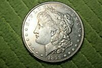 A460,SELDOM SEEN,1898-P VAM-1A OPEN 9, DIE BREAK WING BU MORGAN SILVER DOLLAR,