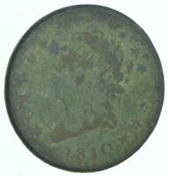 BETTER 1810 CLASSIC HEAD US LARGE CENT PENNY COIN COLLECTION
