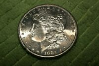 A494,HIGH GRADE,PL,MORGAN SILVER DOLLAR,1881-S VAM-38 DBLD SPIKED 8'S