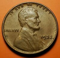1932 P LINCOLN WHEAT CENT HIGHER GRADE AU NT41