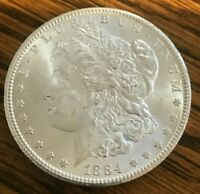 1884-CC MORGAN SILVER DOLLAR GREAT INVESTMENT 90 SILVER--------PRICE LOWERED