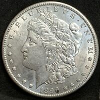1899 S MORGAN SILVER DOLLAR AU/MS DETAILS SAN FRANCISCO MINT COIN BETTER DATE