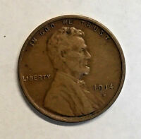 1914-S LINCOLN CENT EXTRA FINE