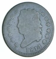 BETTER 1814 CLASSIC HEAD US LARGE CENT PENNY COIN COLLECTION