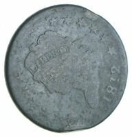 BETTER 1812 CLASSIC HEAD US LARGE CENT PENNY COIN COLLECTION