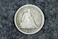 ESTATE FIND 1875 S SEATED LIBERTY TWENTY CENT PIECE  D27591