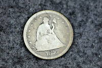 ESTATE FIND 1875 S SEATED LIBERTY TWENTY CENT PIECE  D27366