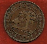 PRINCE EDWARD ISLAND  LARGE  CENT 1871..QUEEN VICTORIA ..MIN