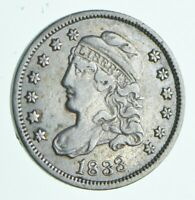 1833 CAPPED BUST HALF DIME 8917