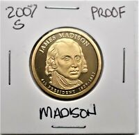 2007-S PROOF PRESIDENTIAL DOLLAR COIN-J. MADISON