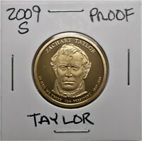 2009-S PROOF PRESIDENTIAL DOLLAR COIN-Z. TAYLOR