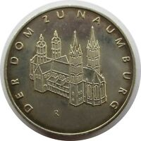 GDR MEDAL 1967 THE DOM TO NAUMBURG, SILVER