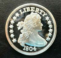 1804 BUST LIBERTY PROOF COIN