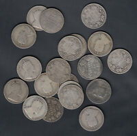 1902 10  CANADA SILVER 25 CENTS   LOT OF 20