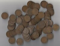 1911 20  CANADA LARGE CENTS   LOT OF 100