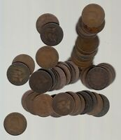 1902 10  CANADA LARGE CENTS   LOT OF 50