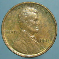 1911 LINCOLN WHEAT CENT   BROWN UNCIRCULATED