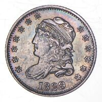 1829 CAPPED BUST HALF DIME 9135