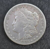 1883-S MORGAN SILVER DOLLAR AN HONEST UNGRADED COIN WITH FREE U.S. SHIPPING