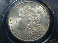 1883-S $1 MORGAN DOLLAR MINT STATE 63 PCGS, BETTER DATE  COIN