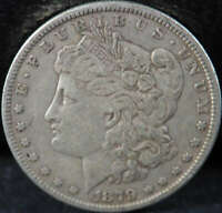 1879 O MORGAN SILVER DOLLAR  FINE VF SKU 34US