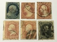 OLD STAMPS USA  X  6